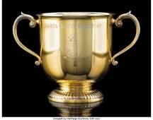 74036: A Tiffany & Co. Gilt Silver Santa Anita Handicap