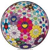 42237 Takashi Murakami b 1962 Flowerball Open Your