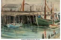 27031: James Milton Sessions (American, 1882-1964) Harb