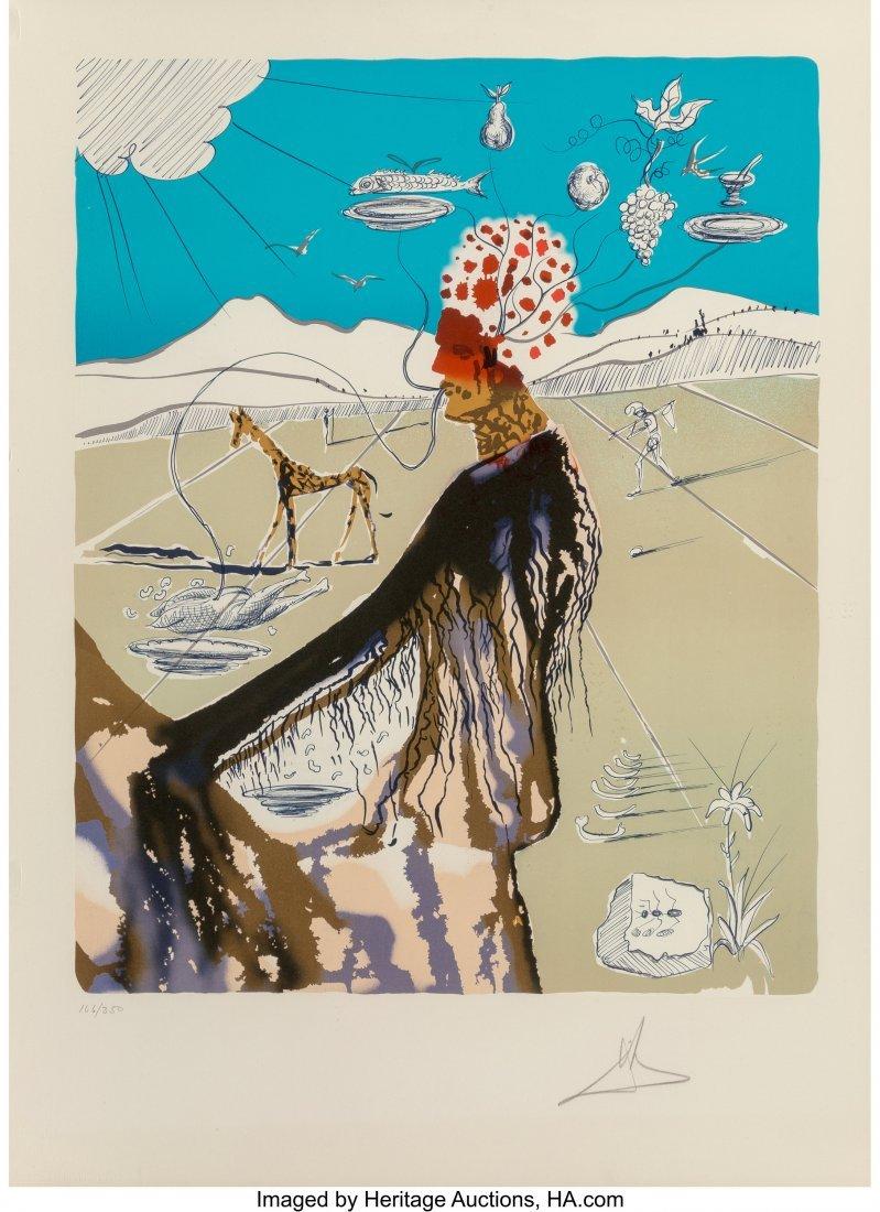 27461: Salvador Dalí (Spanish, 1904-1989) The Ea
