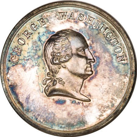 28015: Time Increases His Fame George Washington Medal,