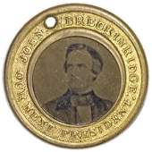 28029 1860 John C Breckinridge Ferrotype