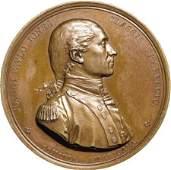 28174: John Paul Jones Naval Mint Medal, (1845-60)