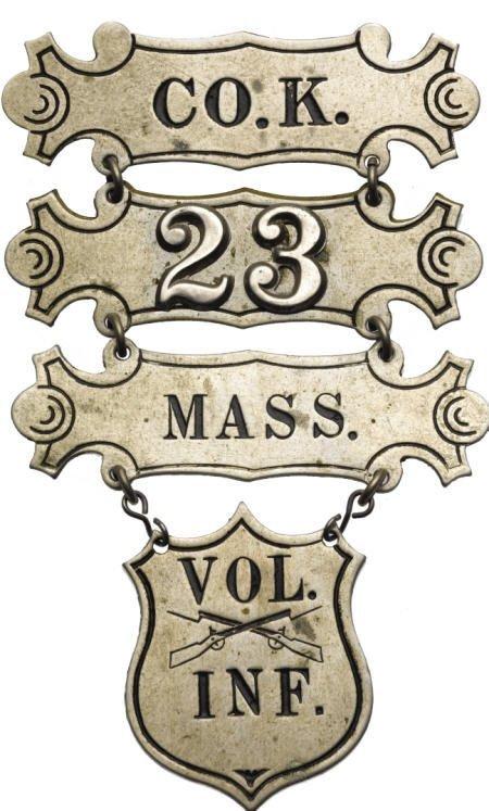 29130: Civil War Ladder Badge. AU Uncertified.