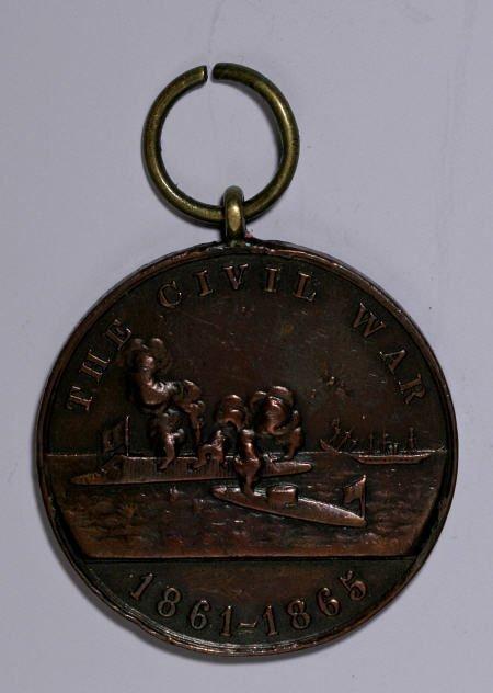 29133: 1865 U.S. Navy Service Medal. XF.