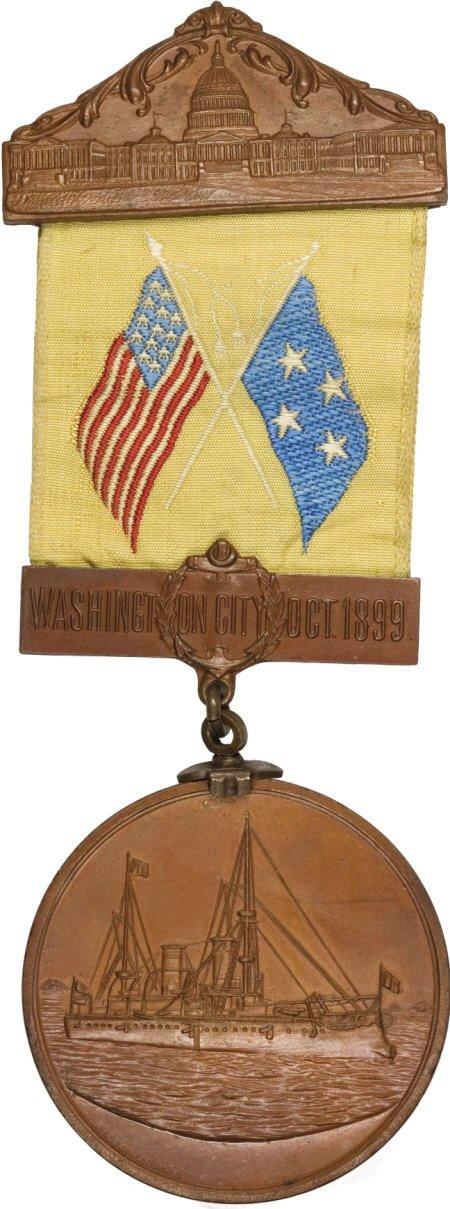 29136: 1899 Admiral Dewey Washington, D.C.,