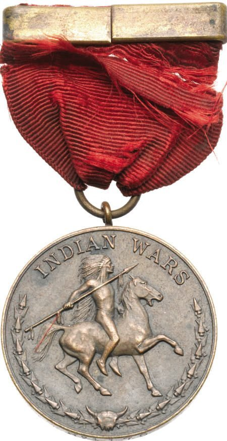 29138: Circa 1908 Indian Wars Service Medal.