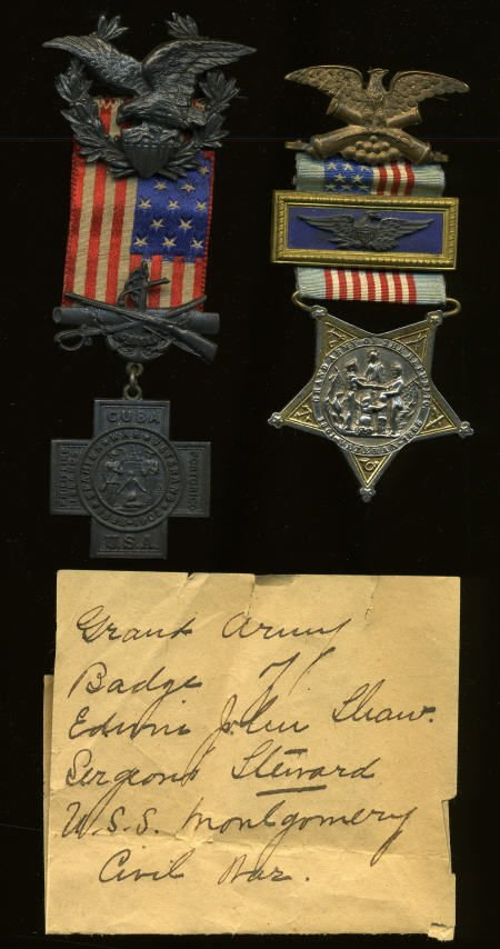 29140: Two Grand Army of the Republic Medals.