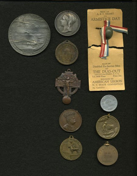29145: 10-Piece Lot of Military Medals.