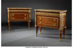 A Pair of Fine LeClaire Neoclassical Gilt Bronze