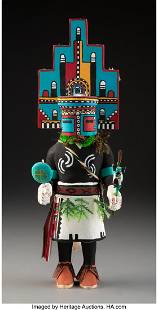 A Hopi Kachina Doll Representing Hemis c. 1978