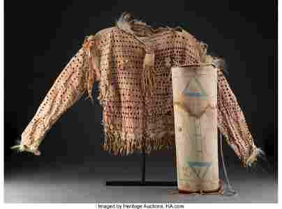 70139: A Nez Perce or Blackfeet Bear Warrior Society Sh