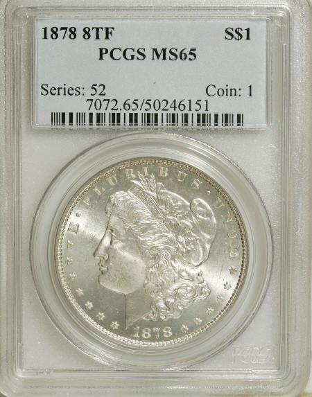 2559: 1878 8TF $1 MS65 PCGS.