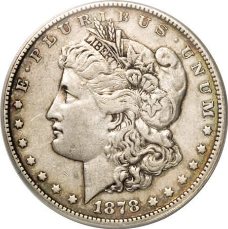 2560: 1878 7/8TF $1 Strong XF45 ANACS.