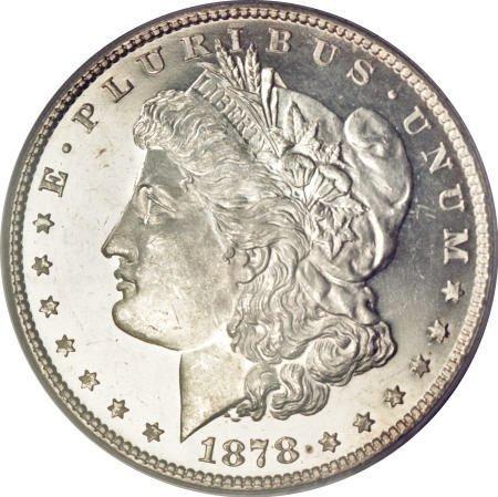 2571: 1878 7TF $1 Reverse of 1878 MS65 Deep Mirror