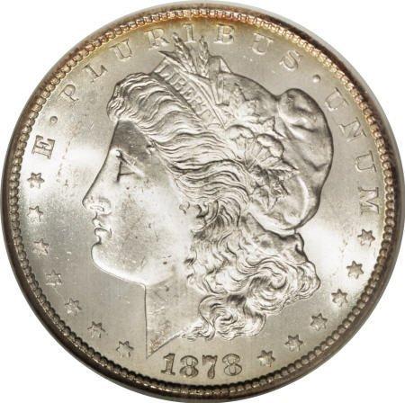 2578: 1878-CC $1 MS66 NGC.