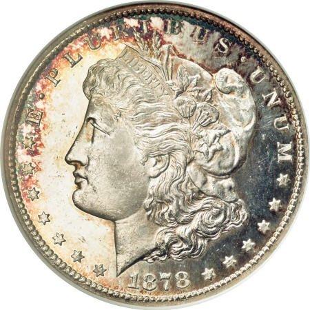 2582: 1878-CC $1 MS65 Deep Mirror Prooflike ANACS.