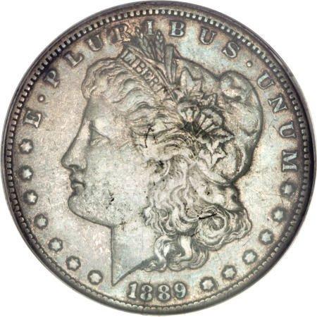 2795: 1889-CC $1 XF45 PCGS.