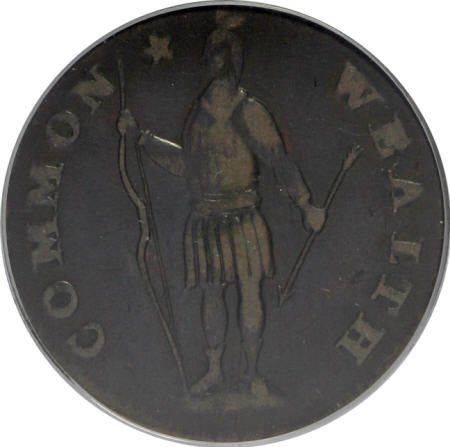 7017: 1788 1C Massachusetts Cent, Period VF30 PCGS. PCG