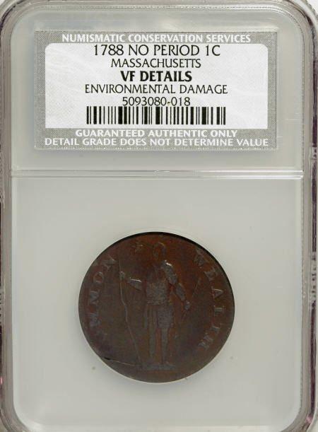 7018: 1788 1C Massachusetts Cent, No Period--Environmen