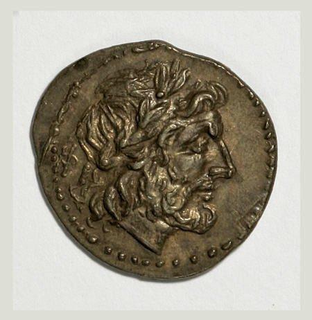 20005: Ancients Sicily, Akragas. 213-210 B.C. AR drachm