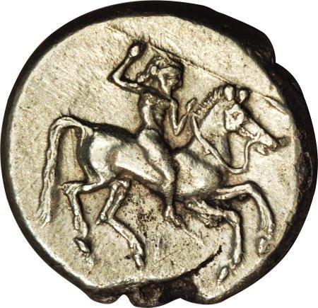 20007: Ancients Sicily, Gela. Ca. 490/85-ca. 480/75