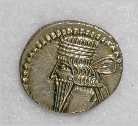 22871: Ancients Parthian Kingdom. Vologases III. A.D.
