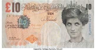 43004: Banksy X Banksy of England Di-Faced Tenner, 10 G