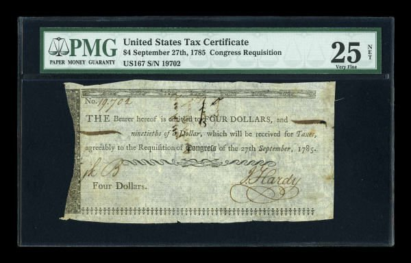 12019: Continental Currency January 14, 1779 $80 About