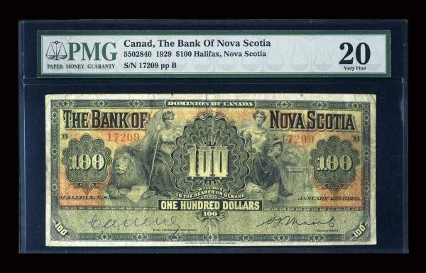 12871: Halifax, NS- The Bank of Nova Scotia Ch. #