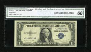 18217: Fr. 1617* $1 1935G With Motto Silver Certificate