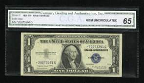 18218: Fr. 1617* $1 1935G With Motto Silver Certificate