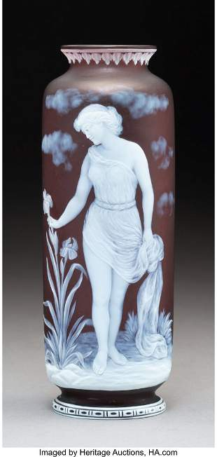 79090: George Woodall for Thomas Webb & Sons Cameo Glas