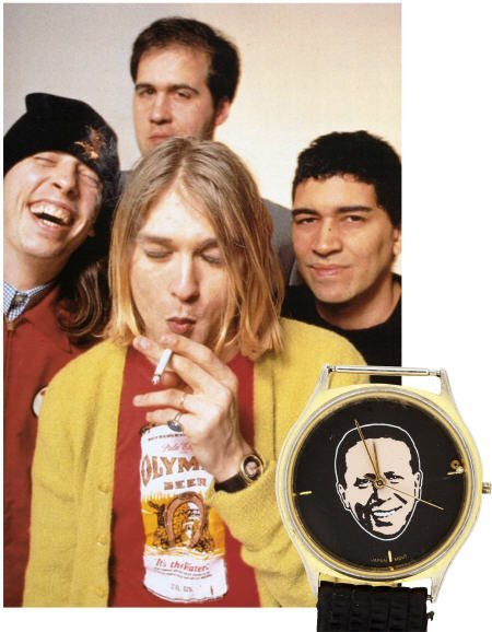 50010: Kurt Cobain's Personally Owned Wrist Watch
