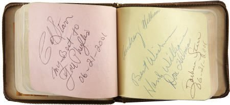 50012: Country & Western Stars Signed Autograph Album