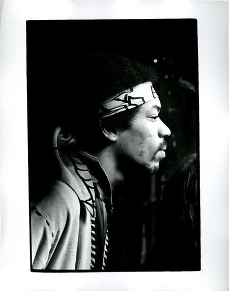 50019: Jimi Hendrix Photo by Ed Thrasher.