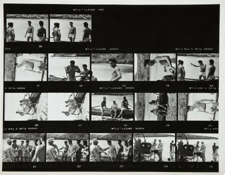 50297: Elvis Presley Blue Hawaii Large Contact Sheets.