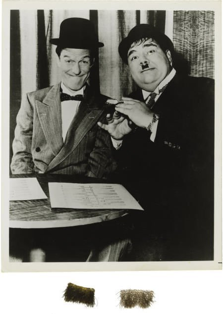 """52010: Henry Calvin's """"Laurel and Hardy"""" Mustache"""
