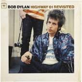 52311: Bob Dylan Highway 61 Revisited Promo Mono LP