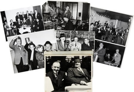 52152: Laurel and Hardy Vintage Photos and Clippings