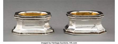 28068 A Pair of Tiffany amp Co Partial Gilt Silver Open