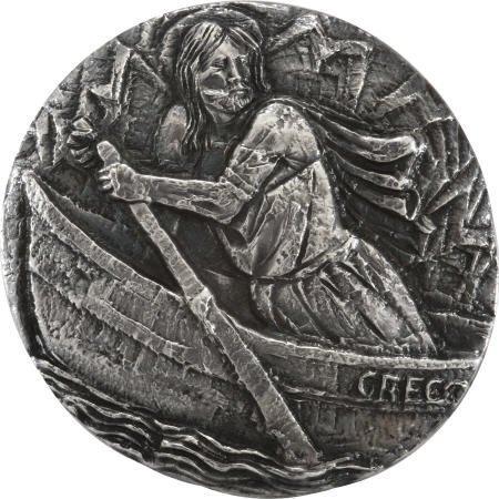 41006: Silver Medal- Pope Paul VI to Alan & Sue Bean