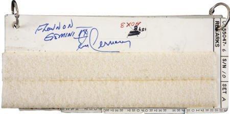 41010: Gemini 9A Flown Launch Abort Checklist- Cernan