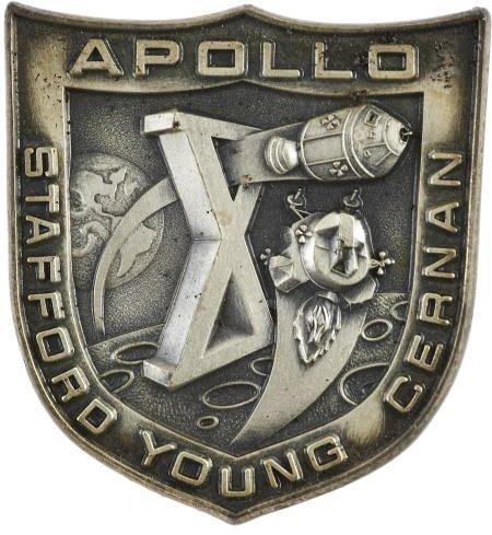 41015: Apollo 10 Flown Silver Robbins Medal #289
