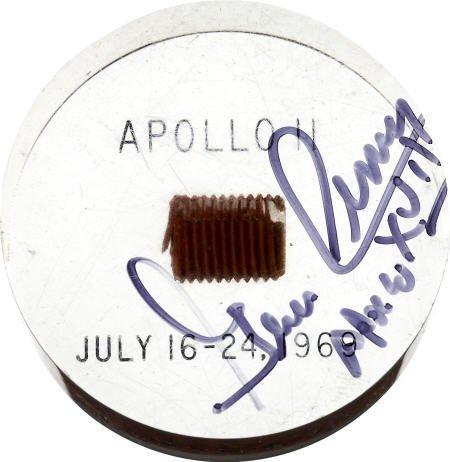 41019: Apollo 11 Command Module Flown Heat Shield Plug