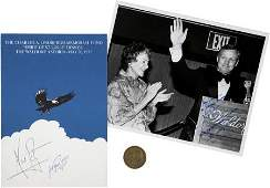 41230: Neil Armstrong Signed Program, Photo