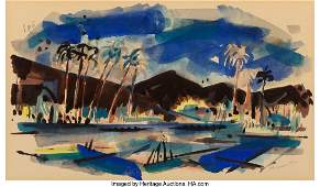 77145: Wayne Thiebaud (b. 1920) Untitled (Palm Springs)
