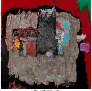 77083: Enrico Donati (1909-2008) Denderra IV, 1984 Oil