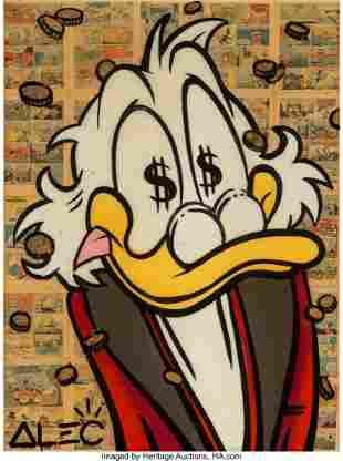 66062: Alec Monopoly (b. 1986) Scrooge McDuck, early 21