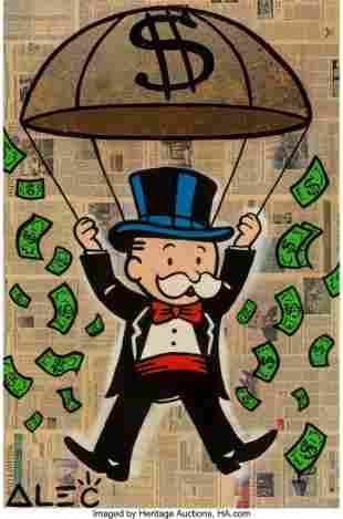 66063: Alec Monopoly (b. 1986) Mr. Monopoly, early 21st